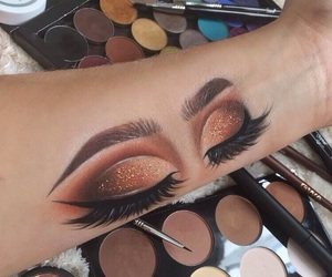 art, makeup, and beautiful image