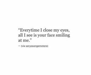 close, eyes, and face image