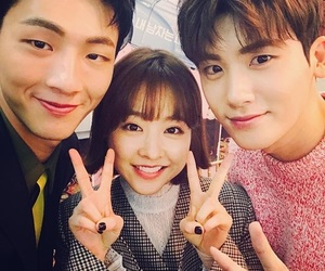 park bo young, strong woman do bong soon, and park hyungsik image