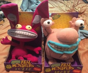 90's, Aaahh!!! Real Monsters, and monsters image