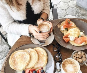 amazing, berries, and coffee image