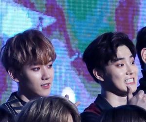 exo, baekhyun, and suho image