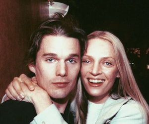 90s and couple image