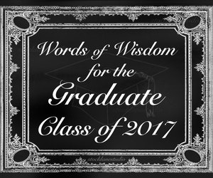 etsy, words of wisdom, and graduation party image