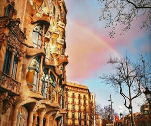 Barcelona, Gaudi, and spanish image