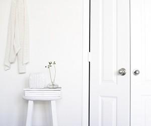white, interior, and minimalist image