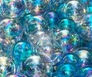 blue and bubbles image
