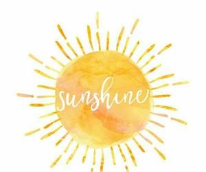 wallpaper, sunshine, and sun image