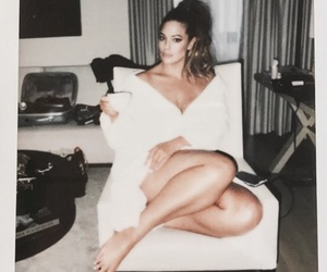 beauty, polaroid picture, and ashley graham image
