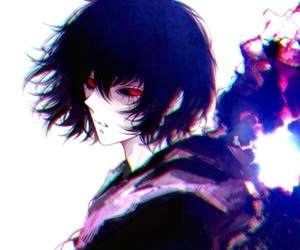 anime, black hair, and ayato image