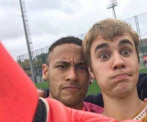 justin bieber, neymar, and neymar jr image
