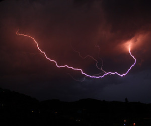 colours, thunderstorm, and sky image