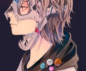 anime and skull image
