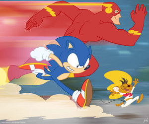 sonic and flash image