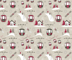 background, gondolas, and pattern image