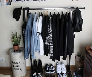 clothes, hanger, and grunge image