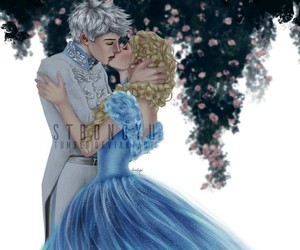 frozen, jelsa, and disney image