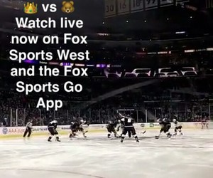 hockey, nhl, and la kings image