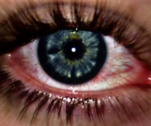blood, eye, and red image