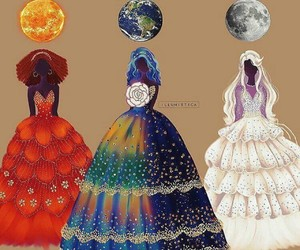 art, dress, and earth image