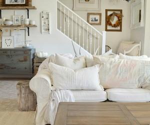 home decor, white decor, and farmhouse style image