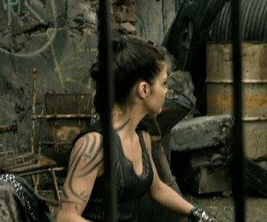 marie avgeropoulos, the hundred, and octavia image