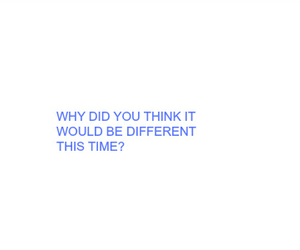 quote, aesthetic, and blue image