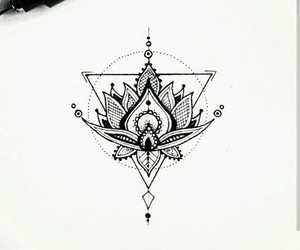geometry, inspiration, and tattoo art image