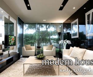 :), lol, and modern houses image
