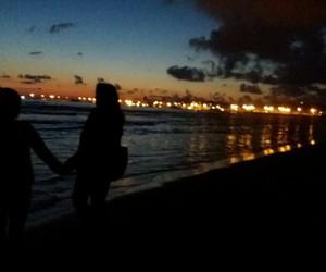beach, sea, and bestfriend image