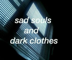quotes, dark, and sad image
