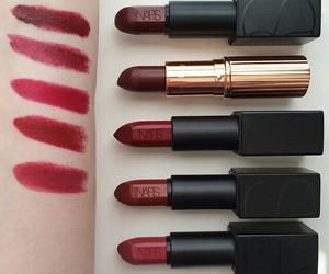 dark, Lipsticks, and nars image