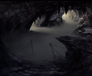 cave, fantasy, and game image