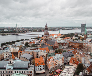 city, europe, and latvia image