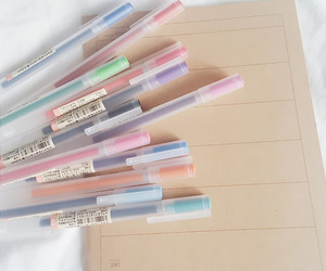 pastel, pink, and journal image