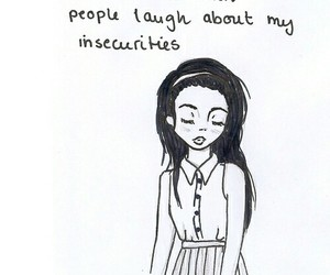 insecurity, sad, and quote image