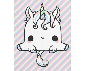 unicorn and kawaii image
