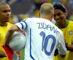 Ronaldo and zidane image