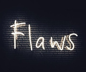 flaws, light, and quotes image