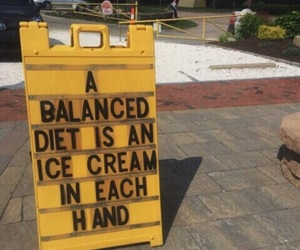yellow, ice cream, and diet image