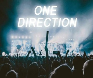 one direction, concert, and Harry Styles image