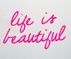 life, perfect, and pink image