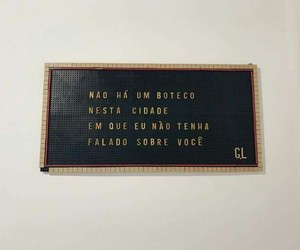 quote, citaçao, and ​amor image