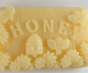 soap, honey, and yellow image