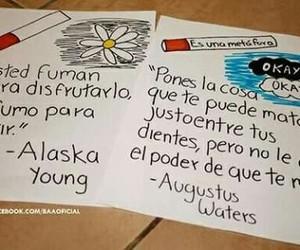 bajo la misma estrella, book, and buscando a alaska image