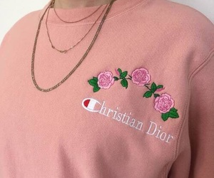 fashion, pink, and dior image