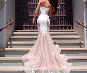 body, dress, and married image