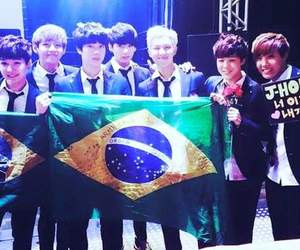 asian, jhope, and brazil image