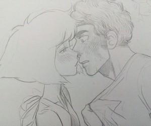 art, kiss, and steven image