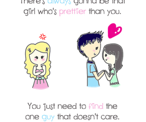 love, pretty, and quotes image